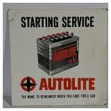 Masonite Autolite Starting Service sign