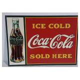 SST Ice Cold Coca-Cola Sold Here sign