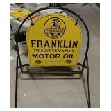 DSP Franklin Pennsylvania Motor Oil sign