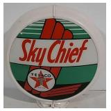 Plastic Sky Chief Texaco Gas globe