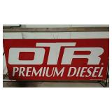 SST OTR Premium Diesel split sign