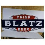 SST Drink Blatz Beer sign