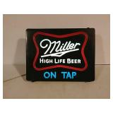 Miller high life light up sign