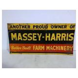 SST Massey Harris sign
