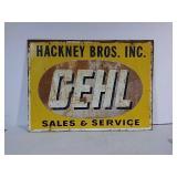 SST Gehl Sales & Service sign