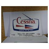 SST Cessna sales & service sign