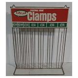 Ideal Corp. Stainless Steel Clamps rack
