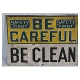 SST Safety First sign