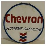 Chevron Supreme Gasoline fantasy art