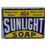SSP Sunlight Soap sign