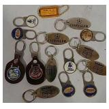 Automotive and beer key chains