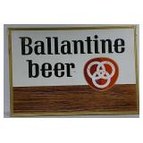 SST Ballantine Beer sign