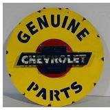 Metal Genuine Chevrolet Parts fantasy art