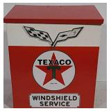 Texaco Windshield Service Towel Dispenser
