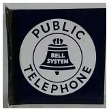 DSP Flange Public Telephone Sign