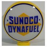 Sunoco Dynafuel Gas Globe