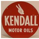 DST Kendall Motor Oils Sign