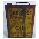 Riley Bros.1 Gal Thread Cutting Oil Can