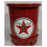 Texaco Grease Rag Can
