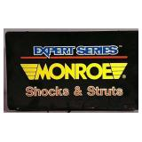 Monroe Shocks & Struts Lighted Sign