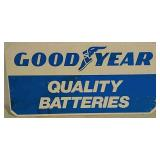 SST Goodyear Quality Batteries Sign