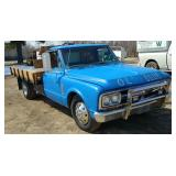 1967 GMC Flatbed Pickup Truck