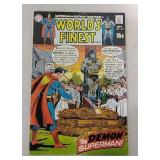Worlds Finest comics 15 cent comic