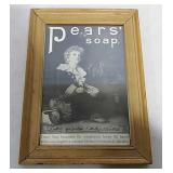 Pears Soap advertising in frame