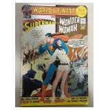 Superman and Wonder Woman 25 cent comic