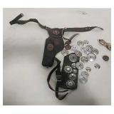 Wild Bill Holster and Holster parts/concho