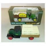 John Deere Truck bank toy trucks