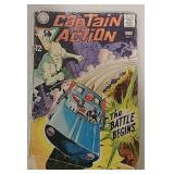 Captain Action 12 Cent Comic