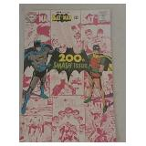 Batman 200th smash issue 12 cent comic