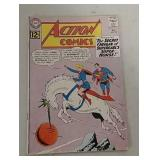 Superman and Supergirl Action comics 12 cent