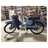 1965 Bridgestone Scooter