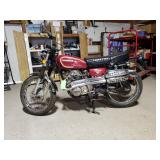 1973 Honda Motorcycle