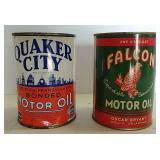 2-One quart motor oil cans