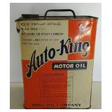 Auto King 2 gal motor oil can