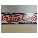 SSP Pepsi Cola sign