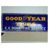 SSP good year tires CE Dunn-tire services sign