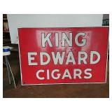 DSP King Edward Cigars sign