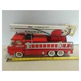 Structo aerial fire truck