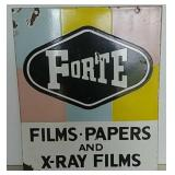DSP Forte X Ray Films sign