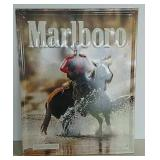 SST embossed Marlboro Man sign
