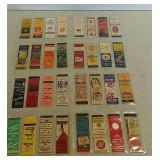 32 Advertising matchbooks
