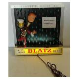 Blatz Beer lighted sign