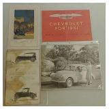 Paper auto memorabilia