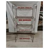 Nehi beverages display rack