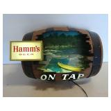 Hamms beer light up sign