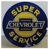 SST embossed Chevrolet Service sign